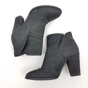 Vince Camuto | Leather Ristin Bootie Chunky Heel